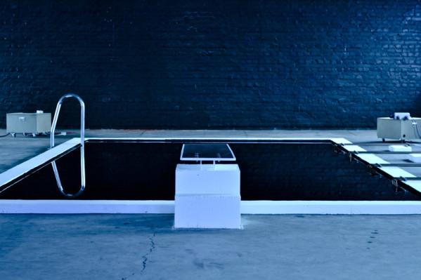 philipp neumann kunst installation pool strukturen angst roemerkastell hbk saarbrücken